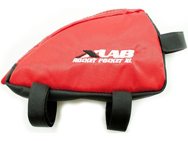 XLAB Rocket Pocket Frame Bag XL red